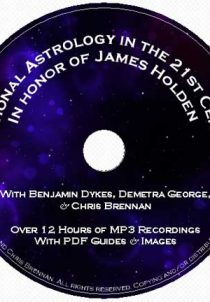 astrology, traditional astrology, medieval astrology, Chris Brennan, Demetra George, Benjamin Dykes, James Holden, American Federation of Astrologers