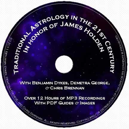 astrology, traditional astrology, medieval astrology, Chris Brennan, Demetra George, Benjamin Dykes, James Holden, American Federation of Astrologers